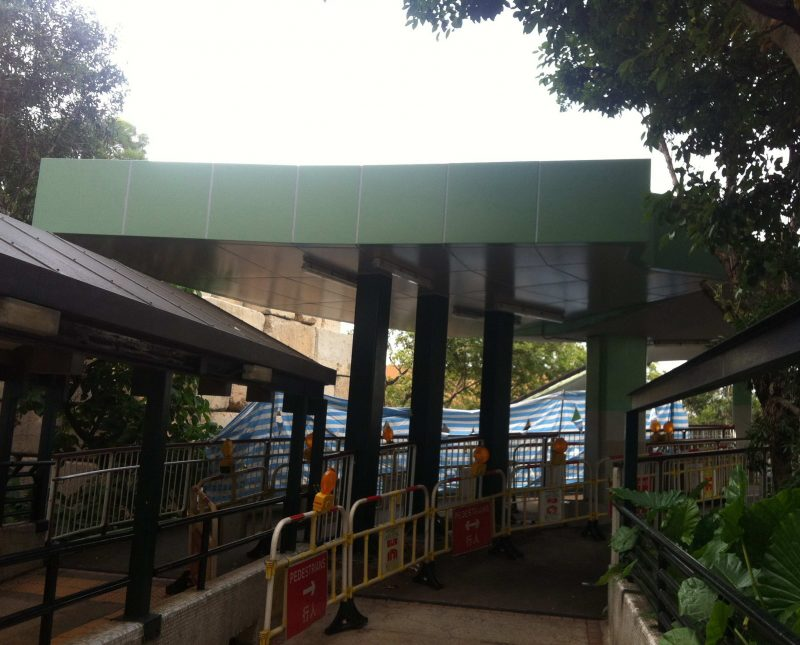 Footbridge – NF245 in Yuen Long