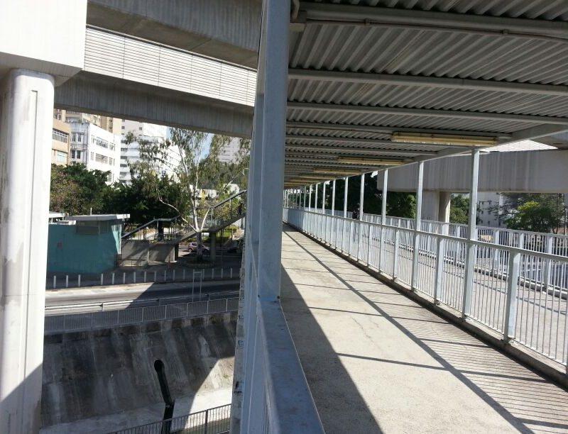 Footbridge – NF70 in Yuen Long