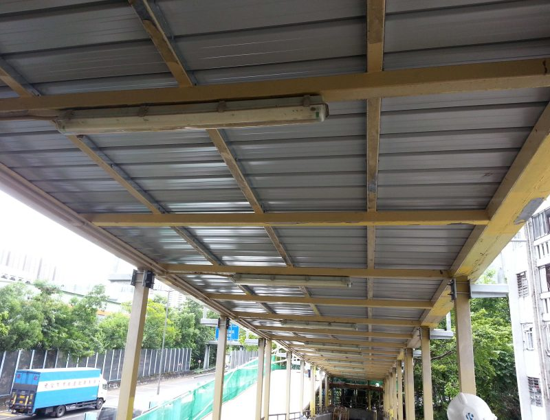 Footbridge – NF98 & NF190 in Tuen Mun