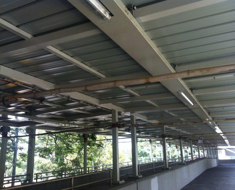 Footbridge – NF100 & NF101 in Tuen Mun